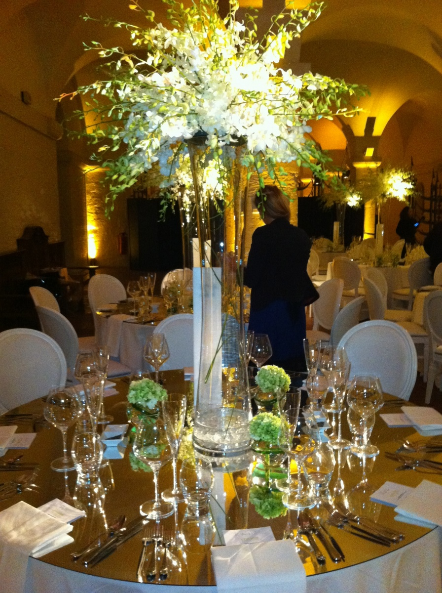 Table centre's at ST paul's